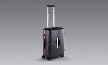 PTS Ultralight M [Rimowa], Noir/ Rouge Indien